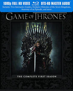 Game of Thrones: Season 1 (Blu-ray Disc, 2012, 5-Disc Set)