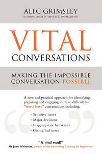 Vital Conversations A practical approach to handling difficult conversations m - Rossendale, United Kingdom - Vital Conversations A practical approach to handling difficult conversations m - Rossendale, United Kingdom