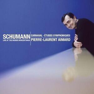 Schumann-Etudes-symphoniques-amp-Carnaval-Pierre-Laurent-Aimard-CD-0825646342