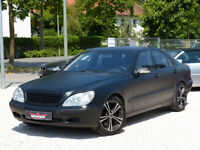 Mercedes-Benz S 55 AMG~Foliert~Sitzbel.~Navigation~ABC~~
