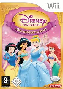 Disney Prinzessinnen: Märchenhafte Reise (Nintendo Wii, 2007, DVD-Box)