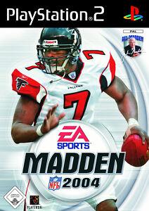 Madden NFL 2004 - Sony Playstation 2 PS2 - nur CD