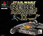 PSX PS1  :Star Wars: Rebel Assault 2 - The Hidden-TOP Empire KULT X-WING FIGHTER