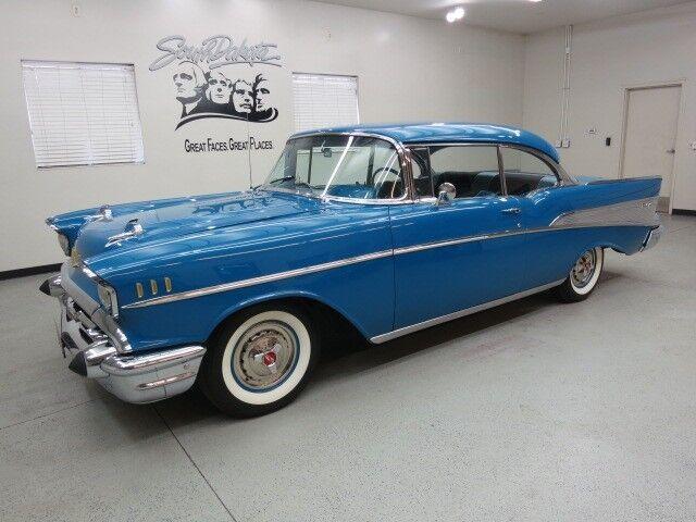 1957 Chevy Bel Air 2 Dr H T Quot Harbor Blue Metallic Quot Clear