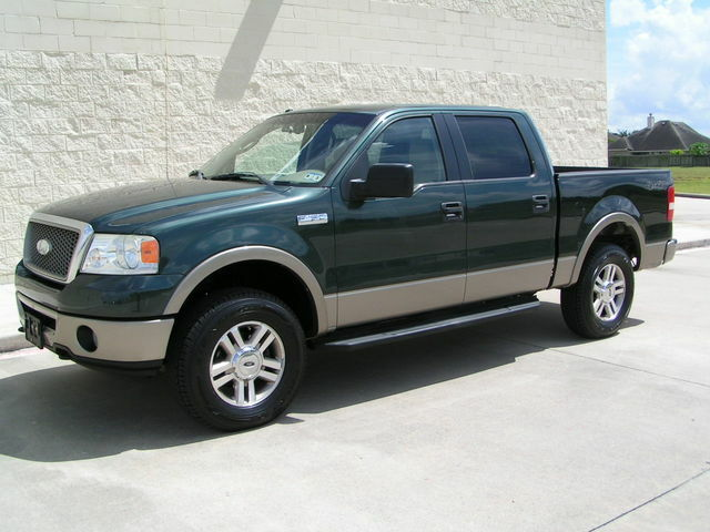 2006 ford f 150 lariat 4x4 crew cab brand new tires tx owned autocheck cert used ford f. Black Bedroom Furniture Sets. Home Design Ideas