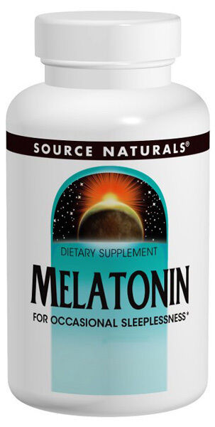 MELATONIN - 5 mg Sublingual Orange - 200 Tablets - FOR OCCASIONAL SLEEPLESSNESS 1