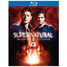 Supernatural: The Complete Fifth Season (Blu-ray Disc, 2010, 4-Disc Set) NEW