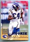 Leaf Rookie Randy Moss Football Trading Cards