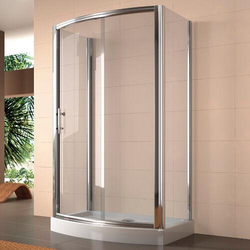 Bäder planen und sanieren: moderne Duschabtrennungen in allen Bauarten