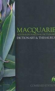 Macquarie Dictionary & Thesaurus ' Macquarie