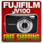 Fujifilm FinePix JV100 12.2 MP Digital Camera - Black