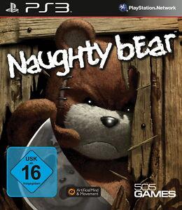 Sony Playstation 3 PS3 Spiel Naughty Bear