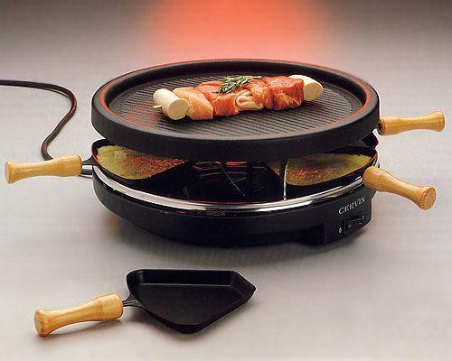 Der Raclette-Grill - Mittelpunkt eines geselligen Festmahls