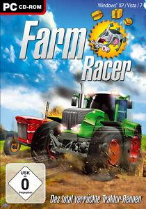 Farm Racer - Das total verrückte Traktorrennen PC CD-ROM PC Spiel NEU OVP  #64/5