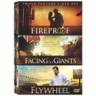 Fireproof/Facing the Giants/Flywheel (DVD, 2009, 3-Disc Set) (DVD, 2009)
