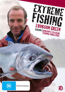 Extreme Fishing With Robson Green : Season 5 (DVD, 2013) New Region 4