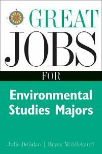 Environmental Science majors that get jobs