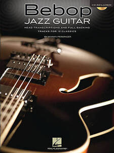 Bebop-Jazz-Guitar-Head-Transcriptions-Backing-Tracks-Gtr-Tab-Bk-Cd-Book-CD