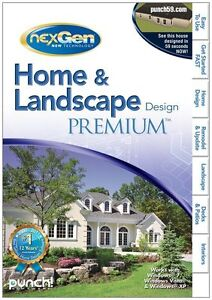 Punch home landscape premium pc 2011 new sealed for Punch home landscape design premium 18