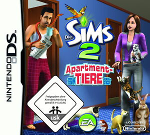 sims 2 apartment tiere nintendo ds dsi lite xl xxl 2ds 3ds spiel kinder m dchen 5030932066619 ebay. Black Bedroom Furniture Sets. Home Design Ideas