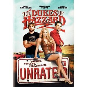 The Dukes of Hazzard (DVD, 2005, Unrated...