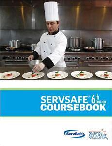 ServSafe CourseBook by National Restaurant Association Staff, 6th Edition