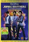 Jonas Brothers - The Concert Experience (DVD, 2009, 2-Disc Set, Includes Digital Copy)