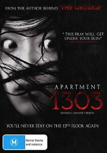 Image Is Loading Apartment 1303  DVD 2013 Japanese Supernatural Horror Creepy