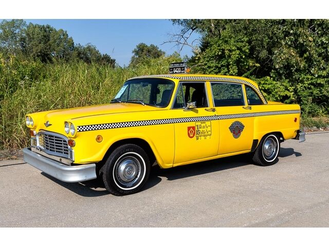 1981 checker marathon taxi cab a c jump seats. Black Bedroom Furniture Sets. Home Design Ideas