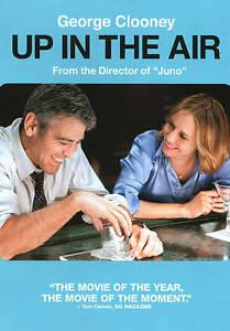 Up in the Air DVD 2009 Comedy/Drama, George Clooney, Vera Farmiga, Anna Kendrick