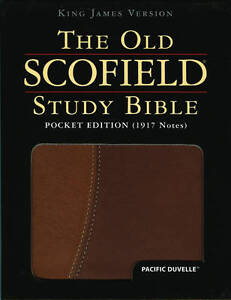 The Old Scofield� Study Bible, KJV, Pocket Edition, Pacific Duvelle, Scofield, C