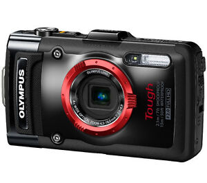 Olympus Tough TG-2 iHS 12.0 MP Digital Camera - Black
