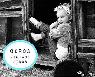 CIRCA vintage finds