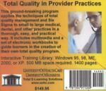 Total Quality in Provider Practices, Farb, Daniel and Gordon, Bruce, 1594911207