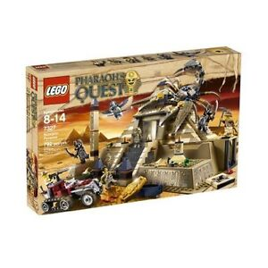 LEGO - Pharaoh's Quest - Scorpion Pyramid (7327) RETIROT   NIB
