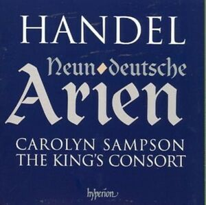 Neun Deutsche Arien (Sampson, the King's Consort) CD NEW