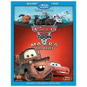 Cars-Toon-Mater-039-s-Tall-Tales-Blu-ray-DVD-2010-2