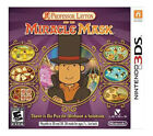 Nintendo Professor Layton and the Miracle Mask Video Games