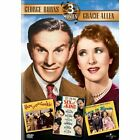 George Burns Triple Feature: Here Comes Cookie/Love in Bloom/Six of a Kind (DVD, 2003, 3-Disc Set)