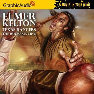 Texas-Rangers-1-the-Buckskin-Line-by-Elmer-Kelton-Audio-book-cd