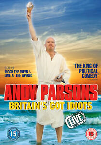 Andy-Parsons-Britain-039-s-Got-Idiots-Live-DVD-15-NEW-SEALED