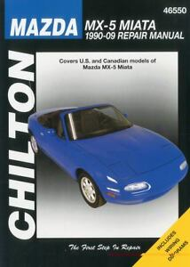 mazda mx 5 miata 1990 2009 chilton 39 s total car care repair. Black Bedroom Furniture Sets. Home Design Ideas