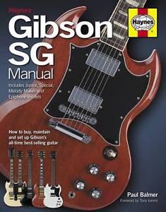 GIBSON SG MANUAL BOOK NEW