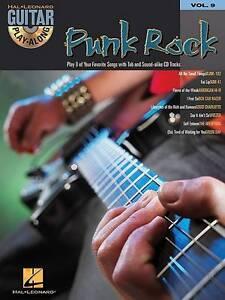 GUITAR PLAYALONG VOLUME 9 PUNK ROCK GUITAR TAB BOOKCD Hal Leonard Guitar Play - Hereford, United Kingdom - GUITAR PLAYALONG VOLUME 9 PUNK ROCK GUITAR TAB BOOKCD Hal Leonard Guitar Play - Hereford, United Kingdom