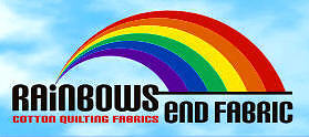 RAINBOWS END COTTON QUILTING FABRIC
