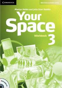 Your Space Level 3 Workbook With Audio Cd  BOOK NEW