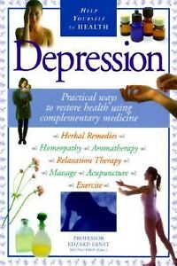 Help-Yourself-to-Health-Depression-by-E-Ernst-1998-Hardcover