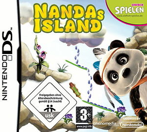 Nandas Island - Nintendo DS - Deutsch - OVP