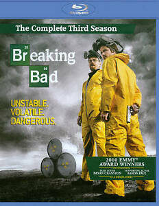 Breaking Bad: The Complete Third Season [Blu-ray] New DVD! Ships Fast!