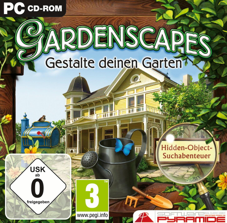 Gardenscapes Gestalte Deinen Garten Pc 2011 Jewelcase Günstig